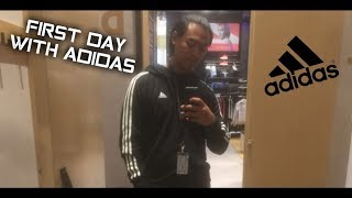 FIRST DAY AS AN ADIDAS EMPLOYEE