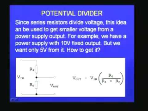 IIT Lectures on Electronics - Electronics Devices - Part 2