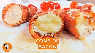 #63 - Como Fazer Cone de Bacon