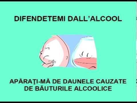 Medicina per contagocce per alcolismo