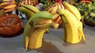 Dolphin banana,  Dauphin en banane