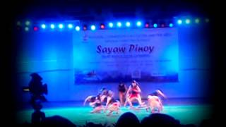 BSU dancetroupe  (Bukidnon) @ NCCA's Sayaw Pinoy 2013 5th placer