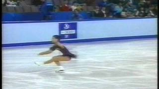 Michelle Kwan 關穎珊 (USA) - 1996 Continents Cup, Figure Skating, Ladies' Short Program