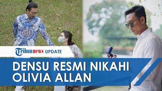 Denny Sumargo Resmi Nikahi Olivia Allan, Tangis Haru Warnai Pernikahan yang Bernuansa Putih-putih
