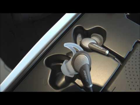 Bose QuietComfort 20: auriculares internos con cancelación activa de ruido