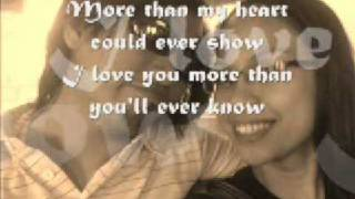 Christian Bautista - More Than You'll Ever Know (With Lyrics)