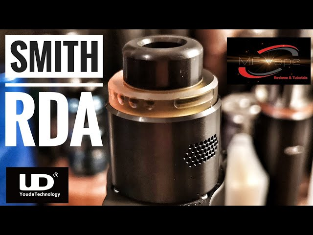 Smith RDA by UD - Review & Rebuild - by MF Vape