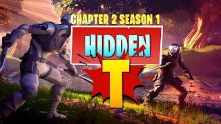 "Hidden ""T"" Letter Location in NEW Loading Screen (Fortnite Chapter 2 Season 1)"