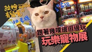 ►拉姆有幾噗◄ 台北寵物展 扭蛋拉霸機玩過癮┃Taipei Pets Show 2018 ♧