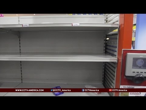 Venezuela Tackles Food Hoarding
