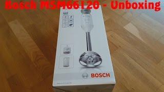 Unboxing - Bosch ErgoMixx MSM66120 (german)