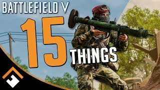 15 Things You Probably Didn't Know You Could Do in Battlefield V