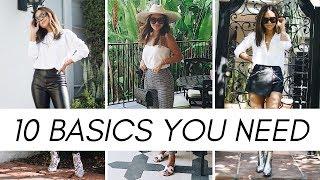 10 Wardrobe Basics You Need 2019