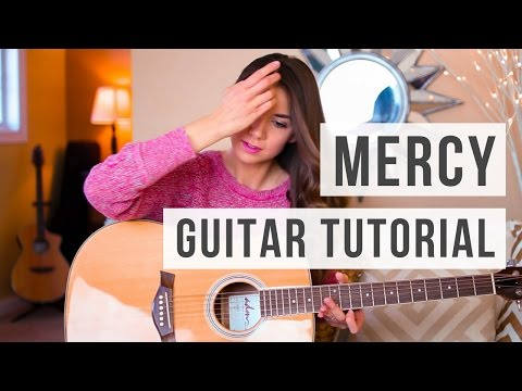Guitar Chords with Strumming Patterns - Mercy - Shawn Mendes - Wattpad