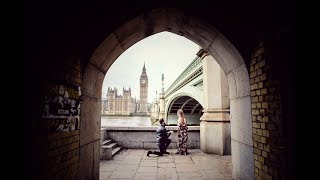 Engaged In London! <3