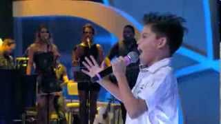 Programa Raul Gil - Alexandre Nunes (Se Deus Me Ouvisse) - Jovens Talentos Kids
