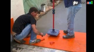 איך לבצע הטבעת בטון - שלב אחרי שלב