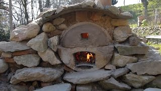 Ep8 - 1/3- Four à pain, pizza...gratuit / free homemade wood fired pizza/bread oven