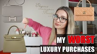 MY TOP 6 WORST LUXURY PURCHASES EVER!