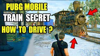 Pubg Mobile New Train Update ? How To Drive New Train In Pubg pc And Pubg Mobile ?