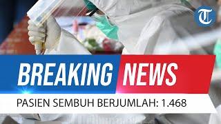 BREAKING NEWS: Update Covid-19 14 Oktober 2021: Kasus Positif 915, Pasien Sembuh Bertambah 1.468