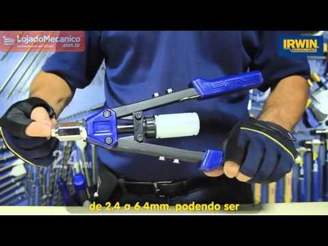 Rebitador Manual 10,5 pol. - Video