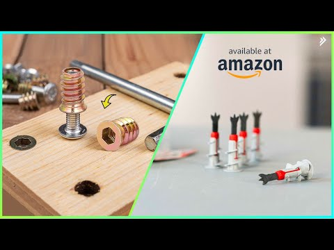 7 New Fastners You Should Have Available On Amazon
