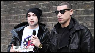 Video Interview with Down With Webster, London, 31/03/11