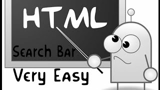 How To Create A Search Bar For Your HTML Website VERY EASY Tutorial
