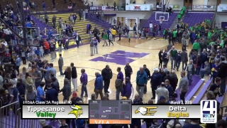 Boys Basketball Regional (Marion) Delta vs Tippecanoe Valley