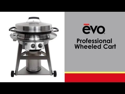 Evo Professional Wheeled Cart – Portable Gas Grill