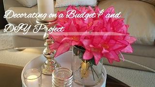 Flea Market Finds/ Decorating On A Budget & DIY