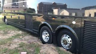 Ram 2500 American Expedition Vehicle Kohls 36,000 Pound Charter Bus Out Of Sand