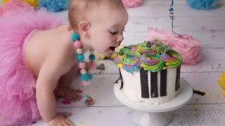 Miss Z Photography Cake Smash and Spash