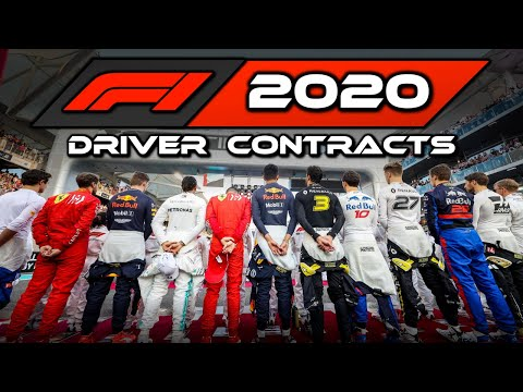 Image: Watch: All F1 2020 driver contracts and how long they have left