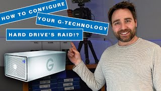 How to configure your G-Technology G RAID hard drive! What is RAID 0,  RAID 1, RAID 5, and RAID 6