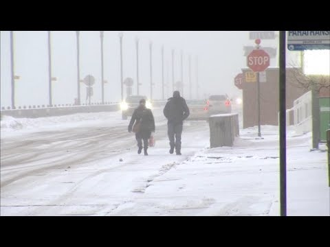 Chicago Weather: Extreme cold grips area, light snow makes slick surfaces