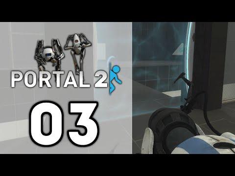 Portal 2 Co-Op Challenge Mode - Mass And Velocity (1080p) - смотреть