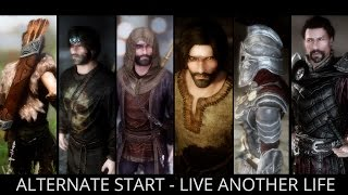 Skyrim Special Edition Mods -  Alternate Start - Live Another Life