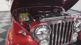 4244 ATL 1985 Jeep CJ7 Laredo