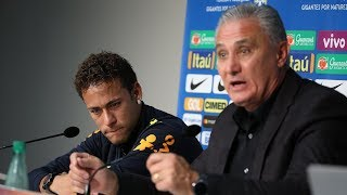 How Brazil's coach made Neymar cry during a press conference - Oh My Goal