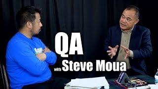 SUAB HMONG TALKSHOW:  Lus nug rau thiab teb los ntawm Steve Muas
