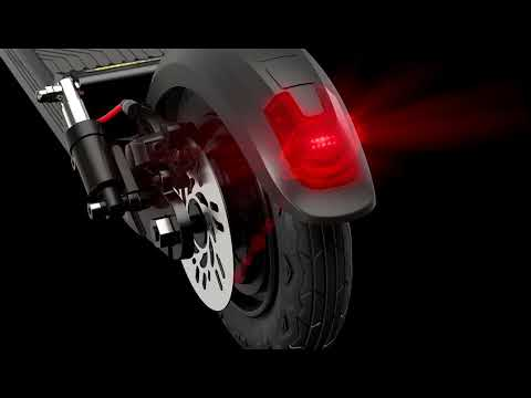 C1 Pro Electric Scooter with Seat Phone Holder for Adult Top Speed 28mph Range 25-28 Miles Motor 500W Adjustable Height