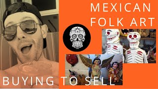 Mexico! Puerto Villarta! Mexican Folk Art That I Buy To Resell