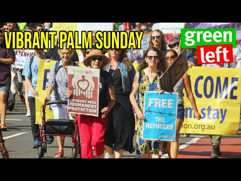 2021 Palm Sunday #Justice4Refugees march in Sydney