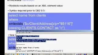 Chapter 11(4) - Querying XML data using SQL and XML
