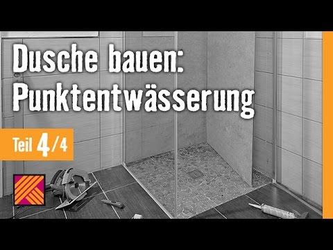 Version 2013 Bodengleiche Dusche einbauen: Punktentwässerung - Kapitel 4: Duschkabine |