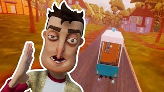 RIDING THE TRAIN - Hello Neighbor NEW ACT 3 ITEM Mod