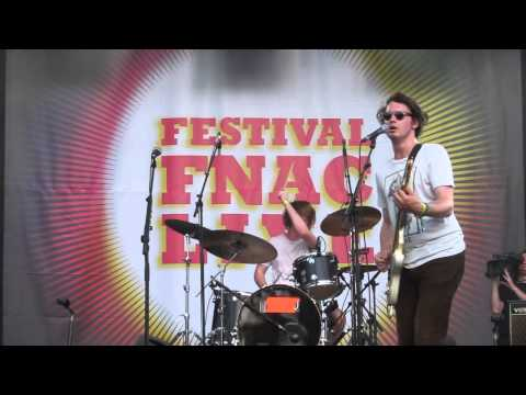 """Step up for the cool cats"" Palma Violets @ Festival Fnac Live, le 18 juillet 2013"