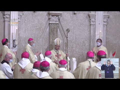 Messe d'installation du nouvel archevêque de Lyon
